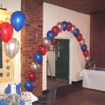 Balloons party event wedding celebration Northwich Cheshire