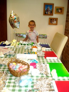 Cupcake decorating parties Cheshire